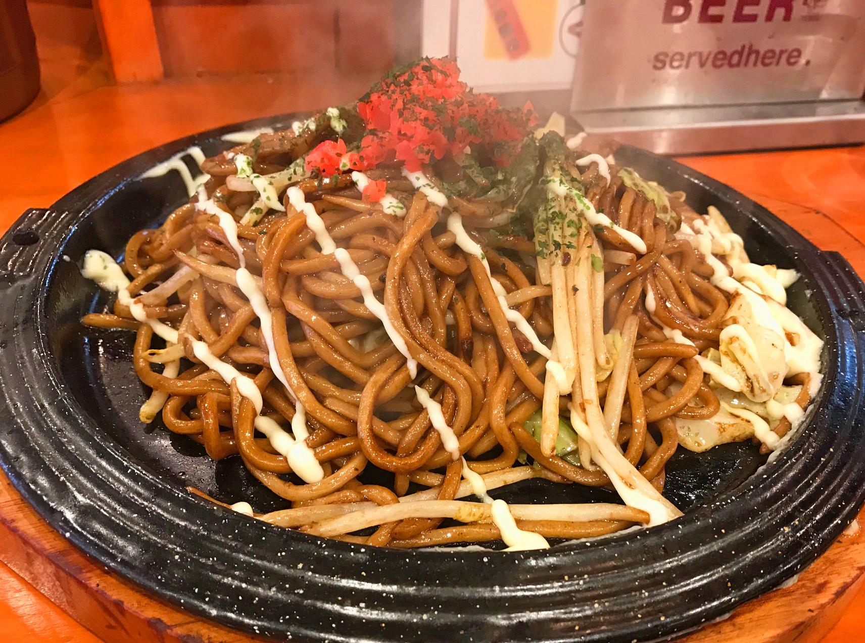 【メディア紹介】「嵐にしやがれ」(日本テレビ)で焼きそばのまるしょうが紹介されました!